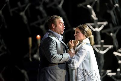 Joseph Calleja, Sonya Yoncheva - Norma - Royal Opera - (c) ROH, photographer Bill Cooper