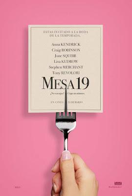 Cartel en español de Mesa 19