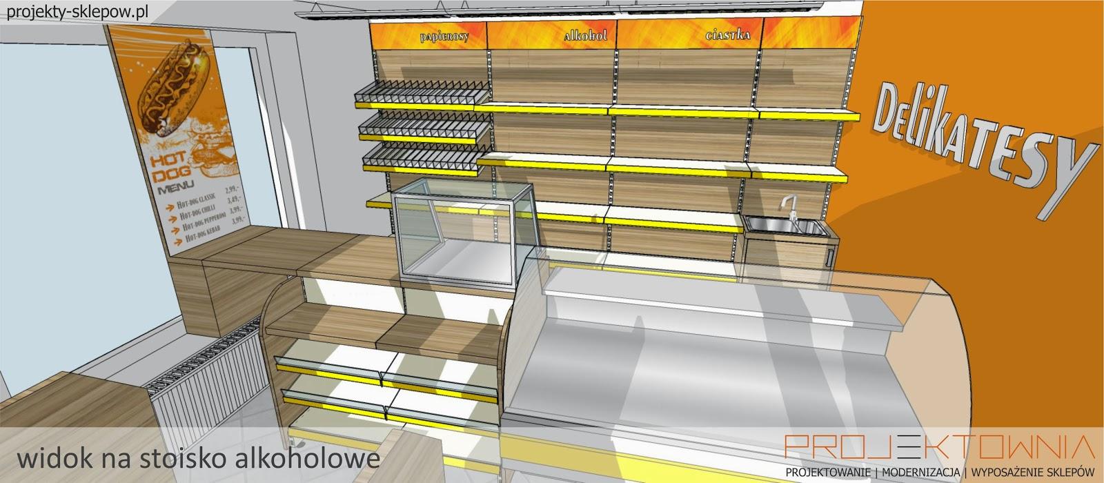 Genialny Projektowanie sklepów FD52