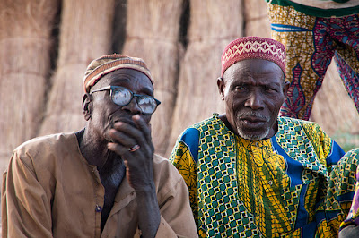 Wise men in Afataranga Benin Africa
