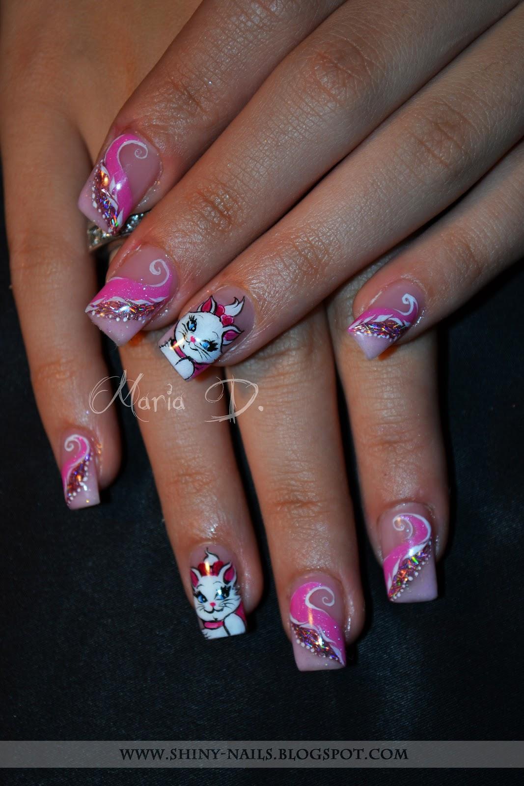 Shiny Nails By Maria D Disney The Aristocats Marie