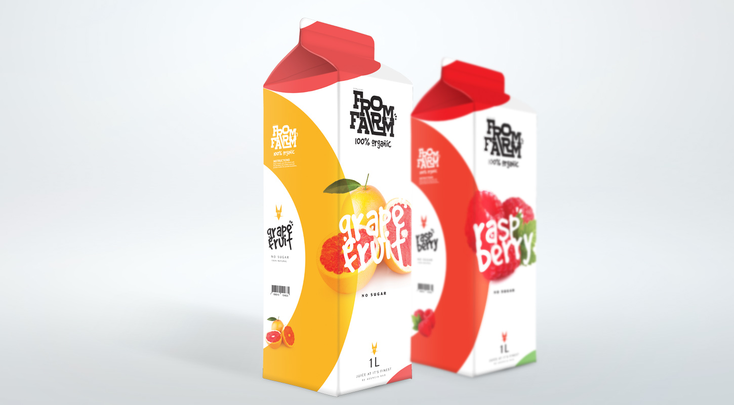 Straight From The Farm (Concept) on Packaging of the World - Creative Package Design Gallery