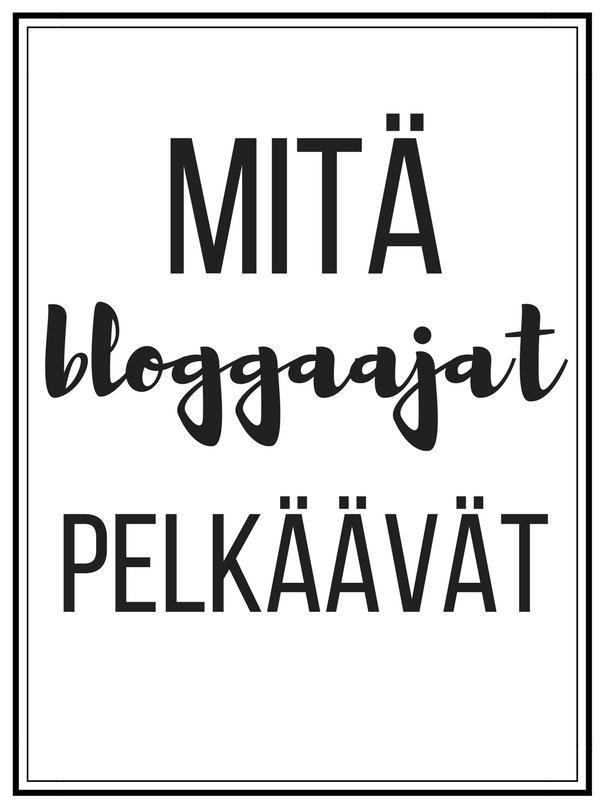 Mitä bloggaajat pelkäävät