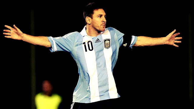 Lionel Messi Argentina World Cup Star Player in Russia