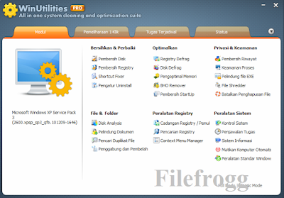 WinUtilities Professional Edition Full Keygen