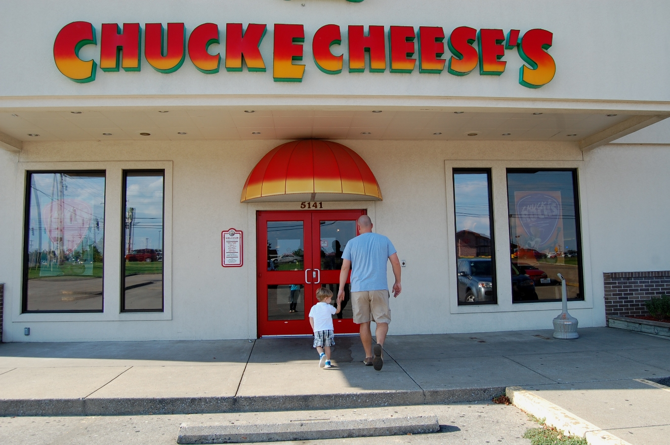 Chuck E Cheese: McClure's . . . What's Up With Us: Chuck E Cheese