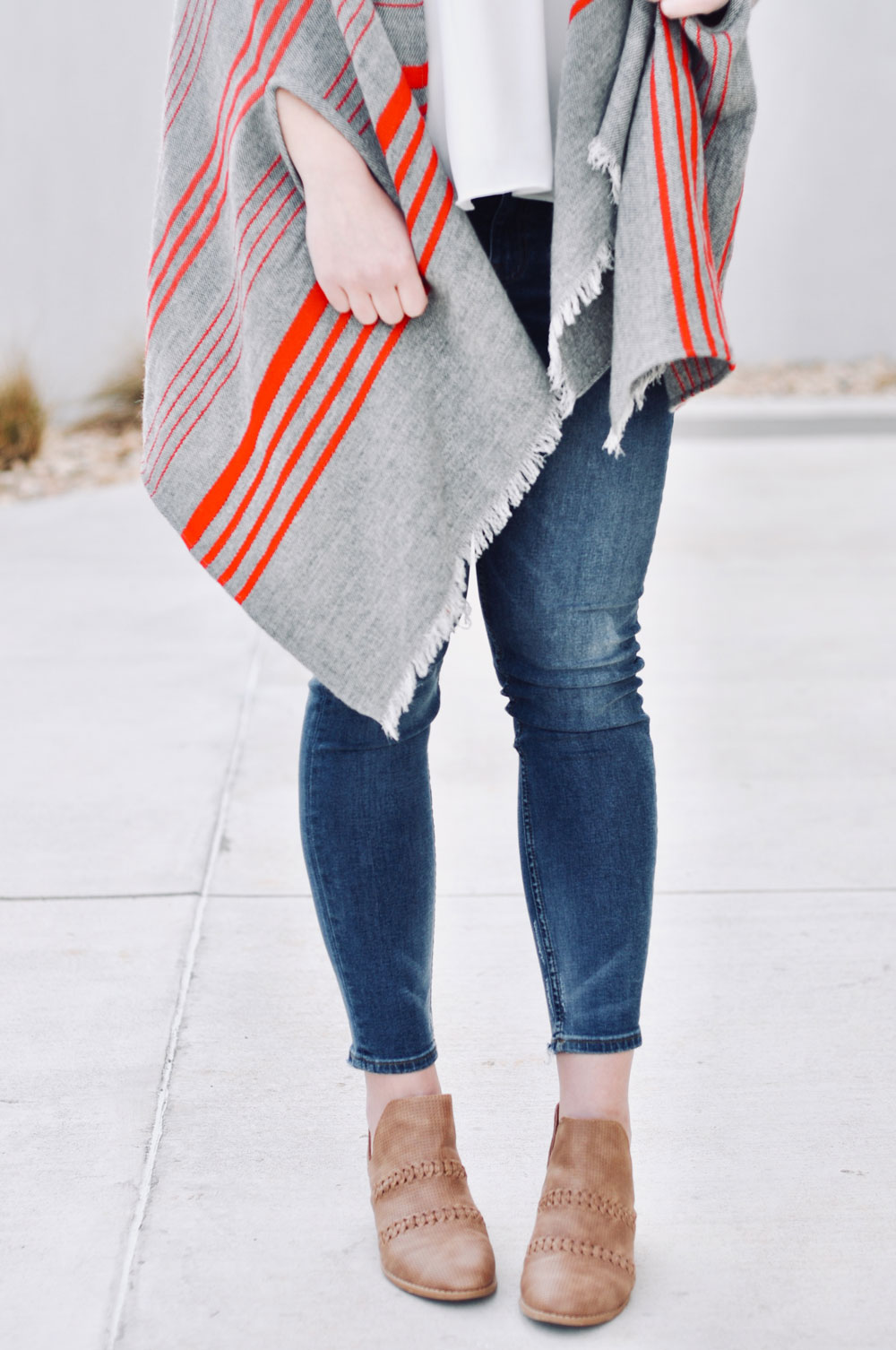 poncho wrap outfit