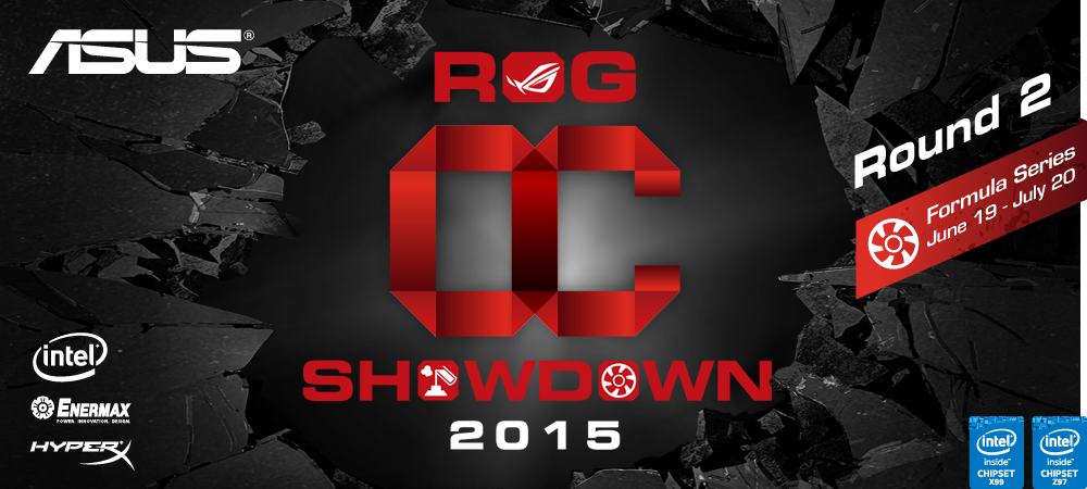 ASUS Republic of Gamers OC Showdown 2015 Formula Series R2