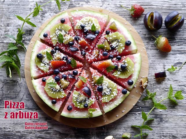 """Owocowa """"pizza"""" z arbuza - Czytaj więcej »"""