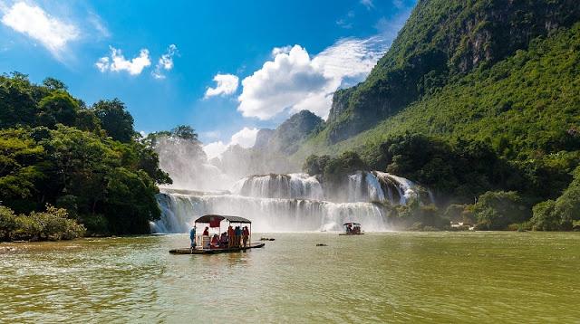 Ban Gioc among Earth's most beautiful waterfalls 1
