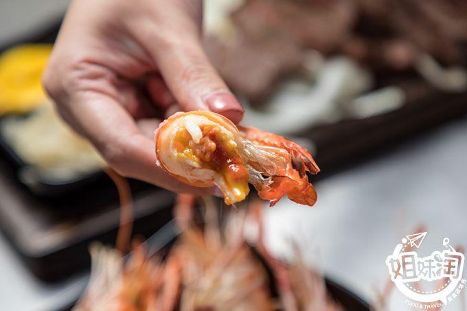 燒肉 燒烤 台南 美食 推薦 燒烤攤 泰國蝦 東區 獨家 牡蠣