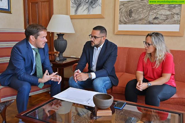 El Cabildo refuerza la coordinación con el Área de Salud de La Palma