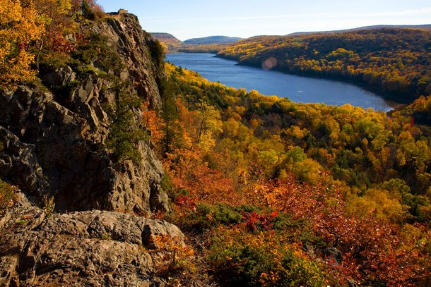 Michigan Lake of the Clouds, Porcupine Mountains Wilderness State Park