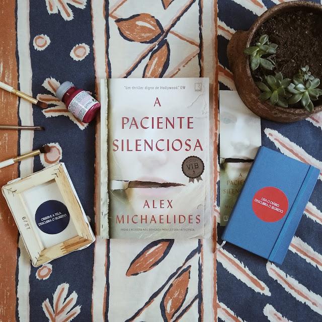 livro a paciente silenciosa