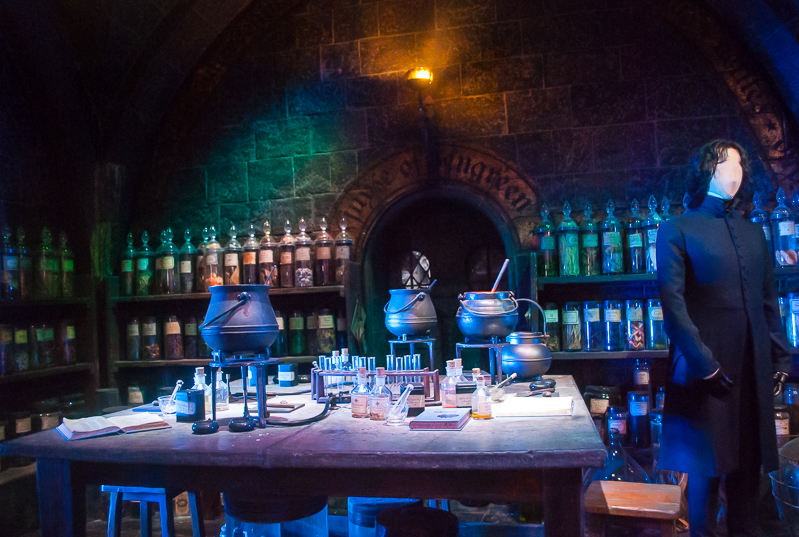 potion room Harry Potter Studios, Engalnd