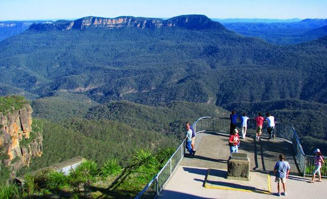 Mirante do Jamison Valley – Austrália