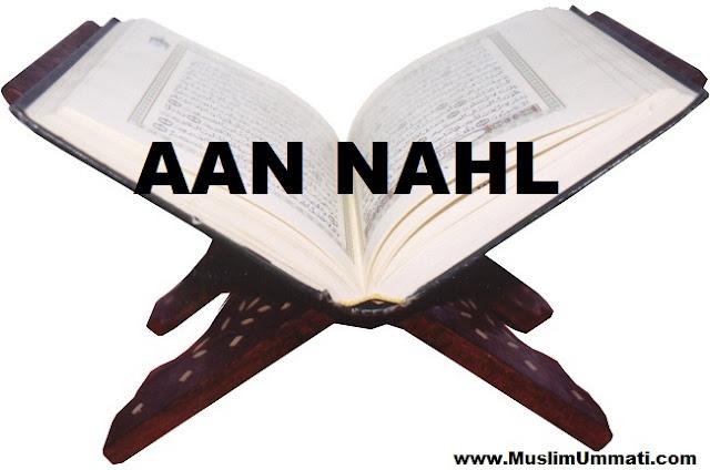 16 Surah An Nahl