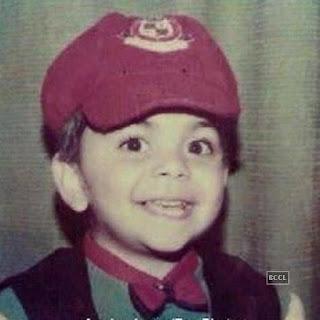 Virat Kohli childhoot pic