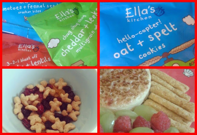 Ella kitchen snack range review