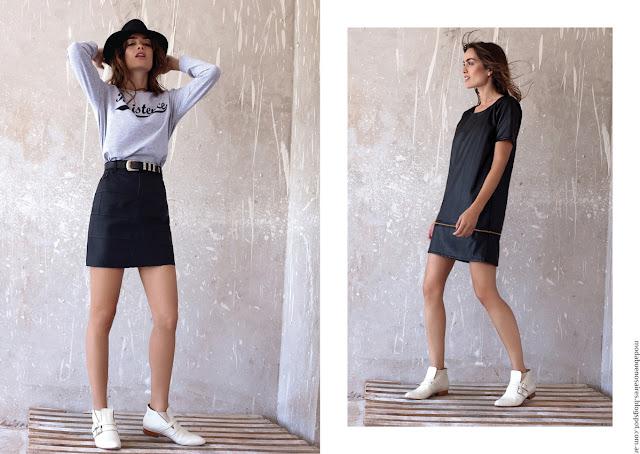 Moda 2016 ropa de moda de mujer invierno 2016.