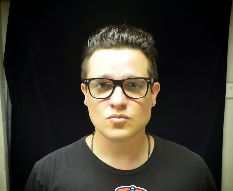 Kyle McMahon K.Mac KMac Music headshot image photo picture with glasses June 2014