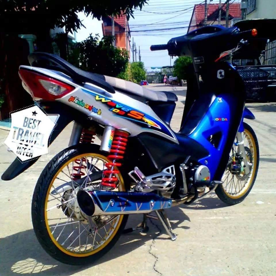 31 Gambar Foto Modifikasi Motor Thailook Mothai Cara Dan Harga