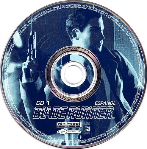 Blade Runner PC CD 1