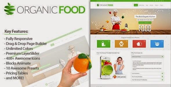 Organic Food Drupal Theme