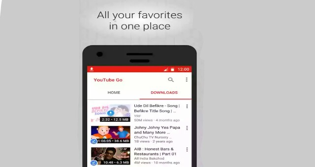 YouTube Go Video Download