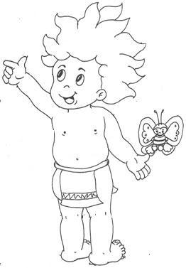 Imagens De Curupira Para Colorir Cantinho Do Educador Infantil