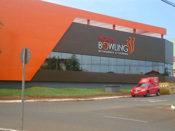 Foto do North Bowling Barretos fachada do prédio - Foto tirada por Celso Rodrigo Branicio