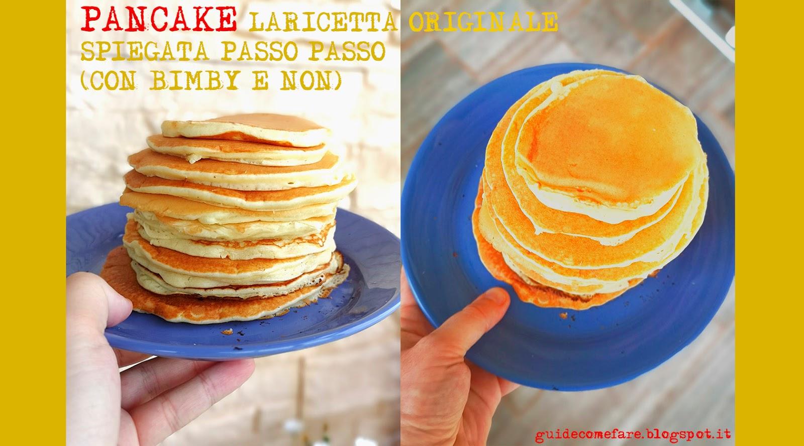pancake bimby ricetta conservazione in frigo