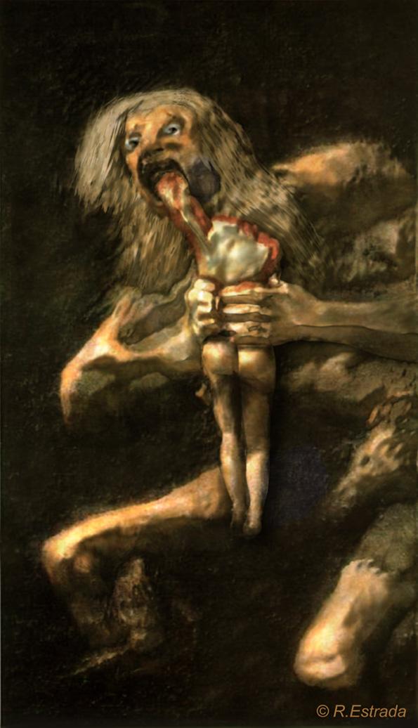 Obra 6 Saturno Devorando A Su Hijo De Goya