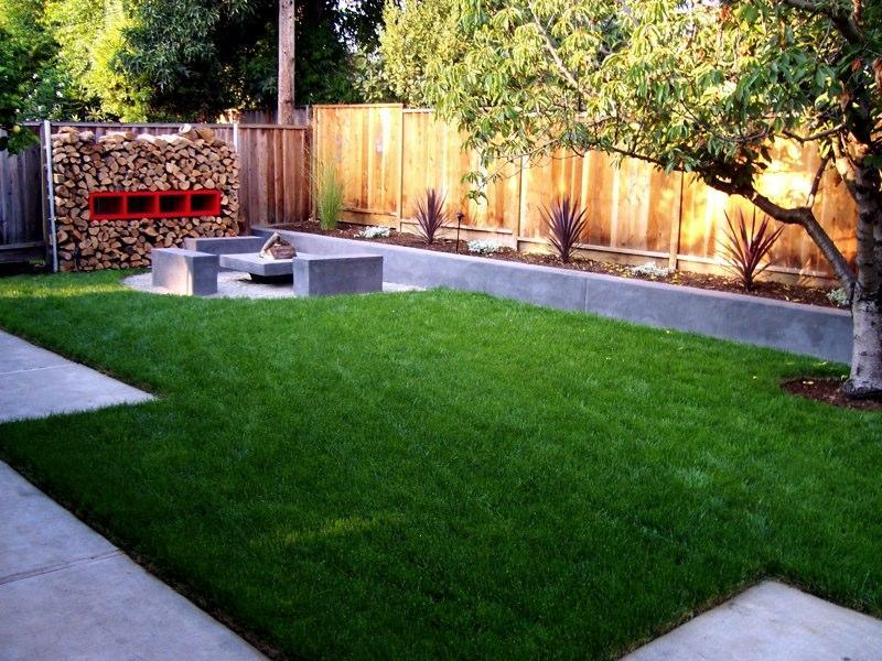 Backyard landscaping ideas garden edging ideas - Small yard landscape design ...