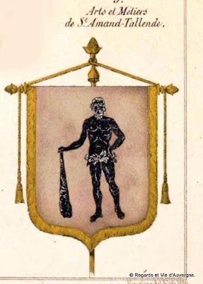 Bannière des Arts et Métiers d'Auvergne Saint Amant Tallende