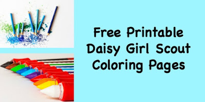 Leader Resource-Free Printable Daisy Girl Scout coloring pages