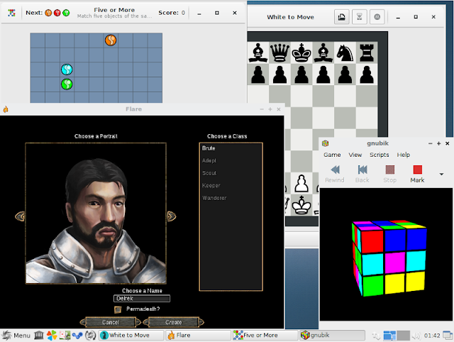 SparkyLinux GameOver