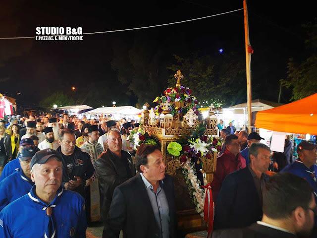 Το Κεφαλάρι Άργους γιορτάζει τη Ζωοδόχο Πηγή (βίντεο)