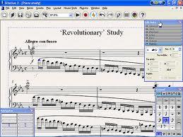 Interfaz Musica Descarga Sibelius 6 Programa Para Escribir Musica