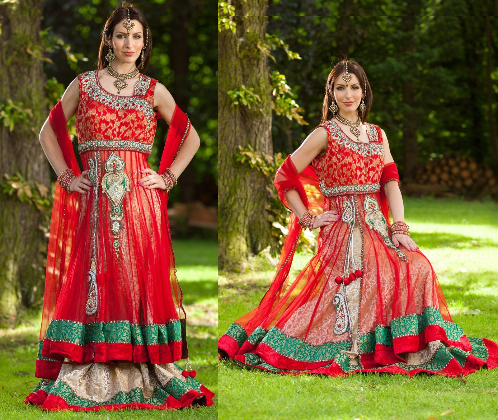 Double Frocks In Lehenga Style Is Designer By Rupali Online A Indian
