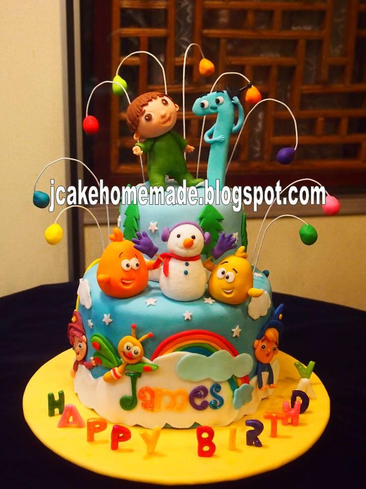 Jcakehomemade Baby Tv Birthday Cake-3420