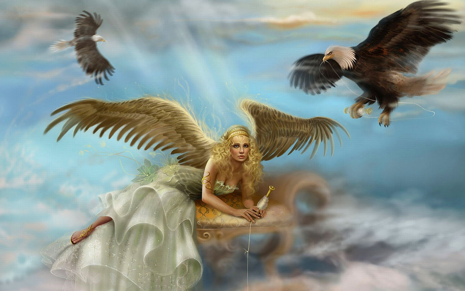 Desktop Angel Screensavers