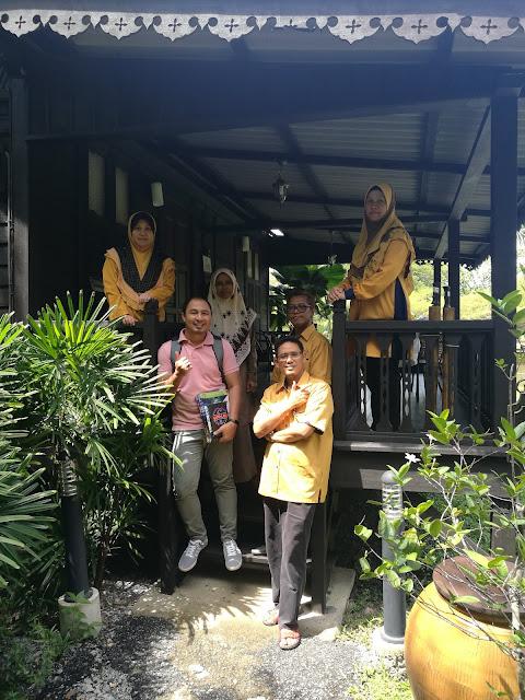 Sembang Santai Majlis Guru Cemerlang SBPI Kubang Pasu di Keriang Hill Resort