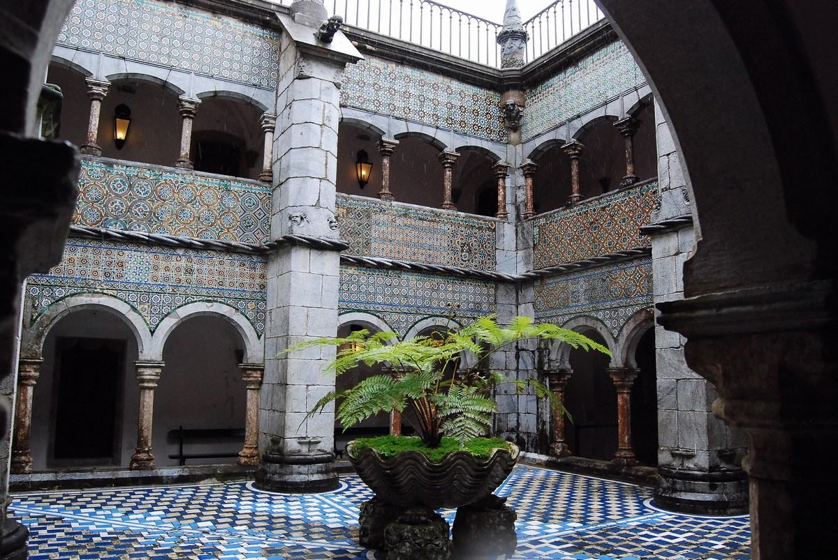 cloitre palais de Pena