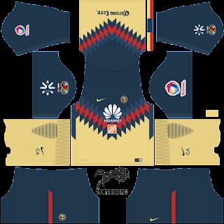 Kits para fts15 y dls17 liga mx 2017 2018 completa for Cuarto kit del america 2018