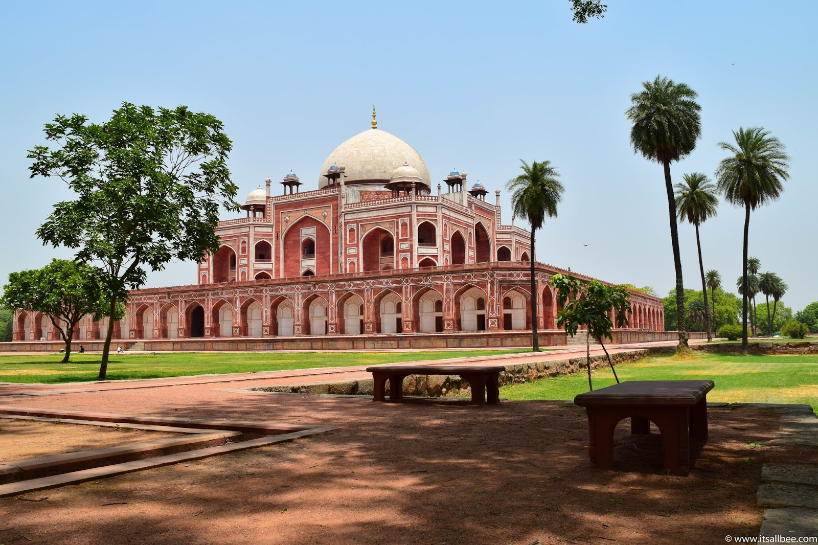 Humayun's Tomb In New Delhi - India. Photo by Bianca -www.itsallbee.com