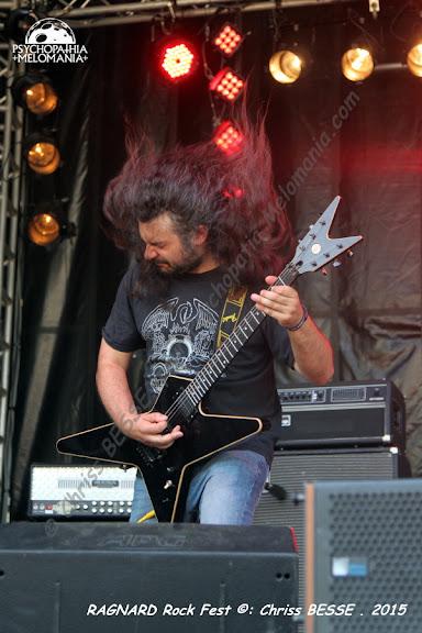 Fortunato @Ragnard Rock Fest 2015, Simandre-sur-Suran 19/07/2015