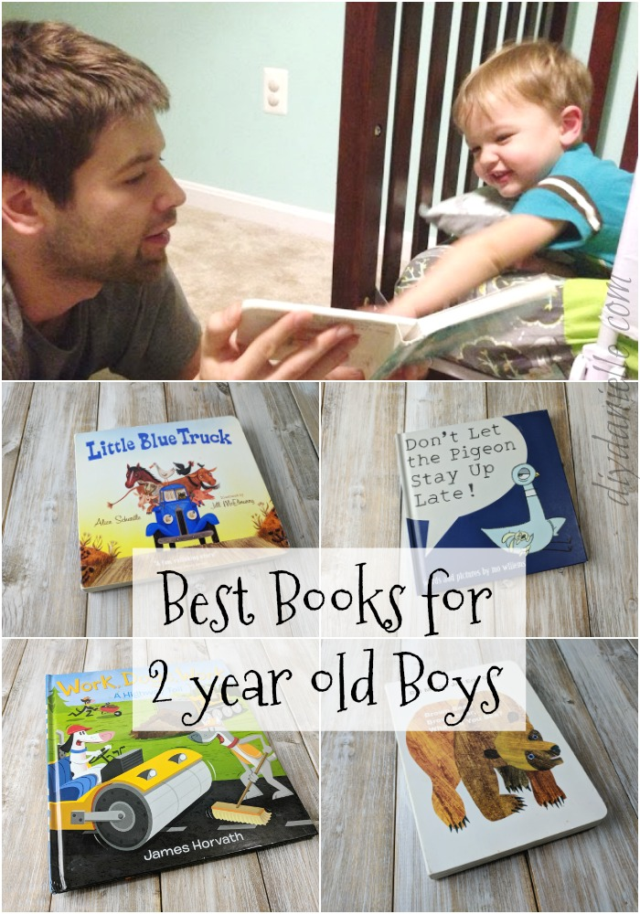Fun books for 2 year olds!