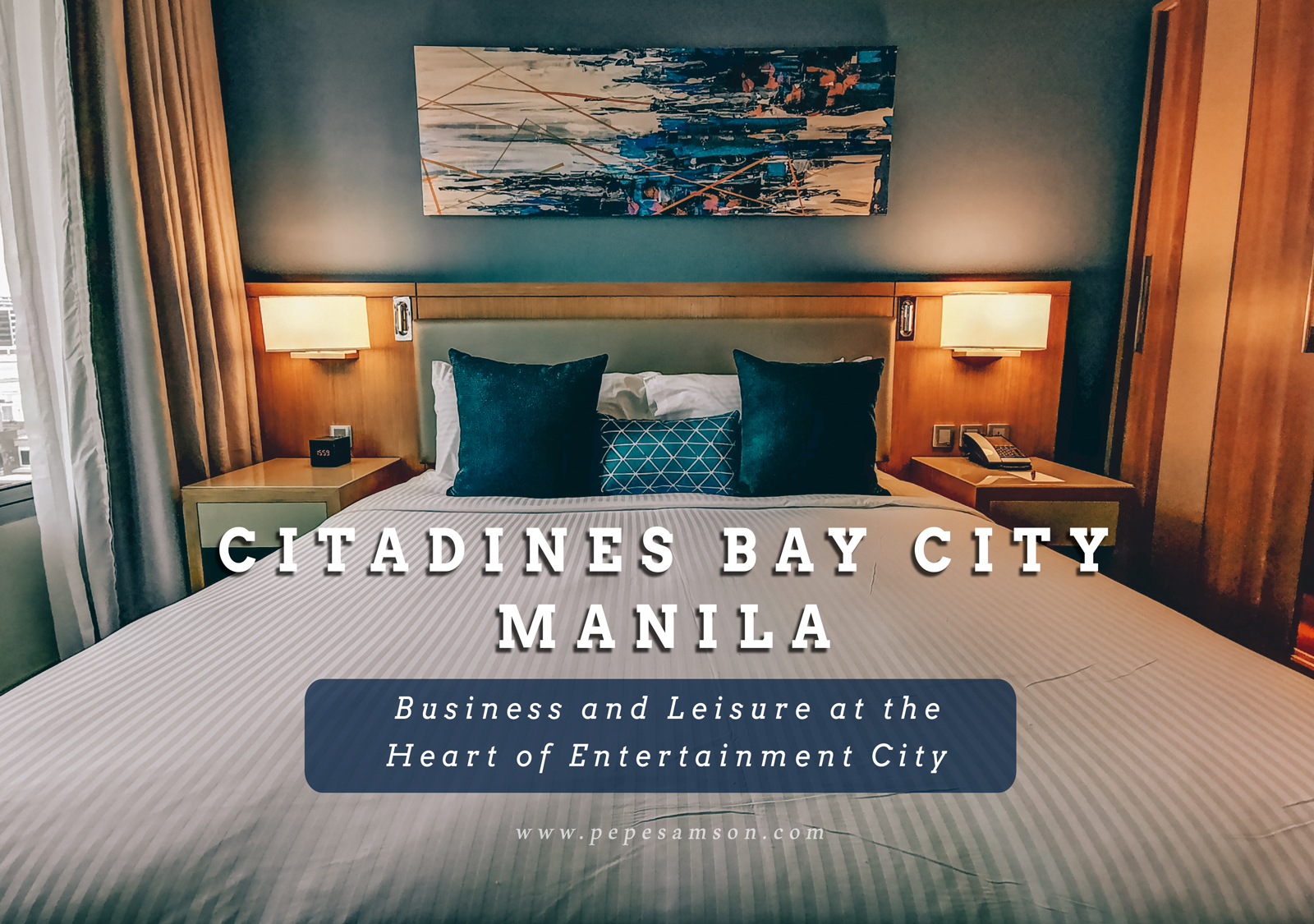 Citadines Bay City Manila: Business and Leisure at the Heart of Entertainment City