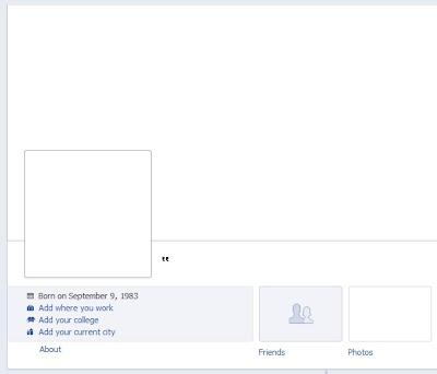 Hide last name of facebook profile